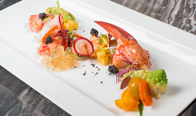 Sous-Vide Marinated Maine Lobster