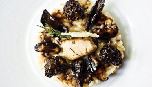 Arborio Rice with Porcini Mushroom & Pan-Fried Foie Gras