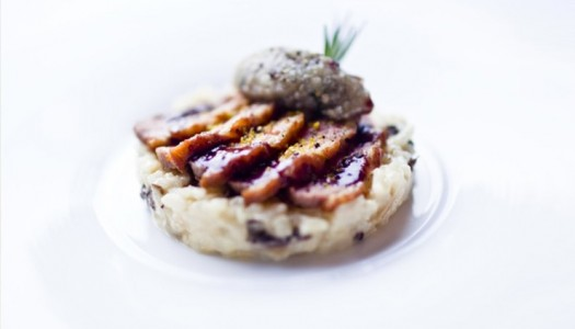 Pan-Fried Duck Breast Risotto