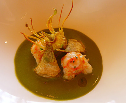 King-prawn-and-artichoke