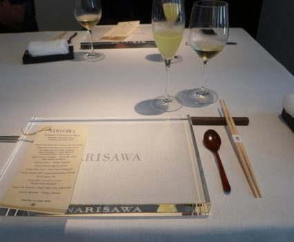 Lunch at Les Créations de Narisawa